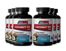 Fat Burner For Women - Coconut Oil 3000mg - Appetite Control - Diet Pills 6B
