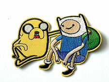 Adventure time finn and jake embroidered iron on patch