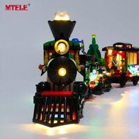 LED Light Up Kit For Winter Holiday Train LEGO Creator 10254 Lighting bricks set