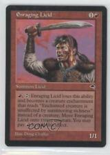 1997 Magic: The Gathering - Tempest Booster Pack Base #NoN Enraging Licid 0a0