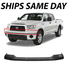 NEW Primered - Front Bumper Cover Upper Pad for 2007-2013 Toyota Tundra Pickup