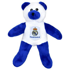 REAL MADRID FC CREST SOFT MINI TEDDY BEAR TOY CONTRAST BABY KIDS NEW XMAS GIFT