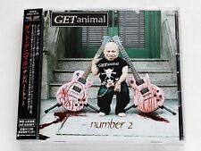 GET ANIMAL Number 2 CRCL-4773 JAPAN CD w/OBI 100az62
