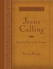Jesus Calling: Enjoying Peace in His Presence by Sarah Young (Leather / fine binding, 2011)
