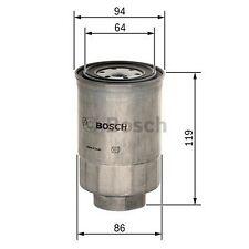 BOSCH Fuel Filter F026402110 - Single