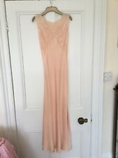 Vintage nightdress size 10 silk