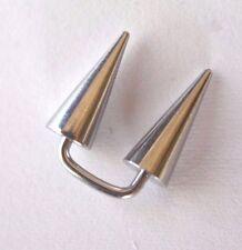 1-10 x 16g 8mm Staple Surface Piercing Helix Ring Horseshoe Circular Bar Earring