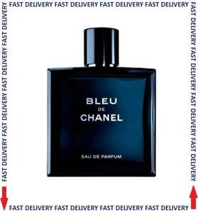 ☑️ BLEU De CHANEL by CHANEL EDP  Eau de Parfum Spray 100ml Men's Perfume NEW ☑️