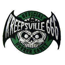 Kreepsville 666 Horror Cadet Patch Halloween Ghoul Punk Embroidered Iron On PHC
