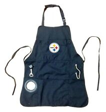 Pittsburgh Steelers NFL Grilling Apron With Pockets