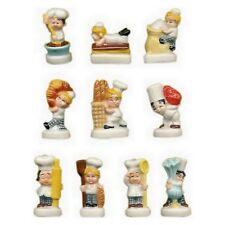 Fèves de collection en porcelaine _ Les Petites Boulpat _ Série complète 10 fève
