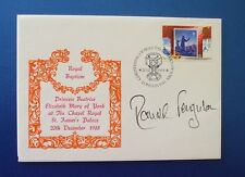 1988 ROYAL BAPTISM PRINCESS BEATRICE COVER SIGNED BY RONALD FERGUSON
