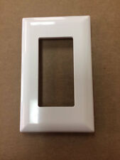 1 Wirecon Side Clip Switch Plate Cover White Mobile Home Parts