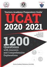1200 Questions for UCAT ( 2020 and 2021 Sittings) - Doctors Academy Preparation