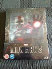 IRON MAN 2-BluRay Steelbook-UK Import-NEU/OVP !!!