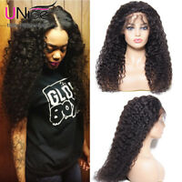 UNice Lace Front Human Hair Wig Curly Brazilian Wig for Black Women 150% Density