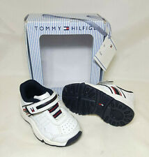 Tommy Hilfiger Baby Boy Infant 3M Leather Sneakers Shoes