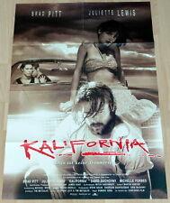 Brad Pitt  KALIFORNIA original Kino Plakat A1