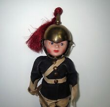 Antique English Royal Queens Guard Toy Soldier Doll With Miniature Sword