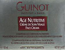 Guinot Age Nutritive 50ml(1.6oz) Brand New