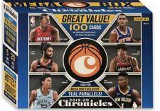 2019-20 Panini Chronicles Basketball Sealed Mega Box Pack🔥 HOT 🔥. 1 Pack
