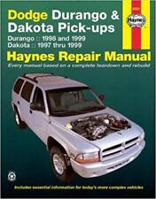 Haynes DODGE DAKOTA PICKUP (97-99) R/T SPORT SLT Owners Service Manual Handbook