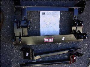Western (61770) Unimount Plow Mount For 73-91 Chevy Blazer Suburban Model 1515