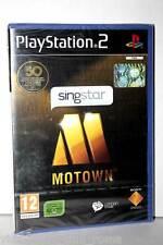 SINGSTAR MOTOWN GIOCO NUOVO SONY PS2 EDIZIONE ITALIANA PAL GS1