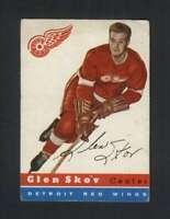 1954-55 Topps #16 Glen Skov VGEX Red Wings 108268