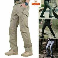 UK Men Waterproof Windproof Outdoor Hiking Combat Trousers Tactical Sports Pants