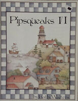 Pipsqueaks VI By Kathi Walters Pen & Ink Holiday Ornaments Tole Painting Book.