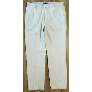 Peter Millar Mens Pants Size 38 Pima Cotton Beige