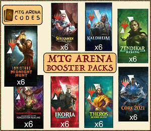 MTG Arena Code Card Booster Innistrad Forgotten Realms Strixhaven Prerelease