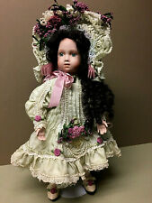 "Antique Repro 14� Victorian ""Mandelia"" Porcelain Doll By Patricia Loveless!"