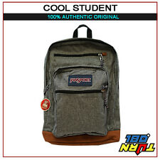 JANSPORT 100% AUTHENTIC COOL STUDENT  BIG BACKPACK ORIGINAL SCHOOL BOOK BAG