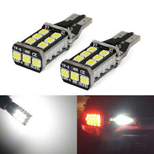 A1 2x T15 921 Canbus 15W XENON White 800LM 2835 LED Bulbs Back up Reverse Light