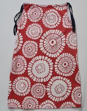 Hanna Andersson Large White Floral Red Pillowcase Dress, 140 (US 10)
