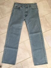 Levi Strauss 505 USA vintage looking Mens Jeans W36 L34 Levis nicely worn in