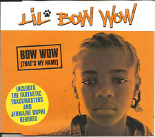 LIL BOW WOW That's My Name w/ TRACKMASTERS & JERMAINE DUPRI REMIXES CD single
