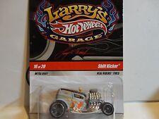 Hot Wheels Larry's Garage Grey Shift Kicker Rider Wheels