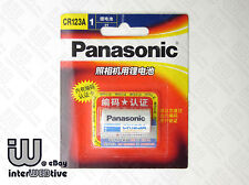 New in Package Japan Panasonic CR123A CR123 Photo Camera Battery 3V Expiry 2022