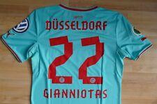 Fortuna Düsseldorf Pokal Trikot hellblau 2013-14  #22 Gianniotas Gr.M  DFB Patch
