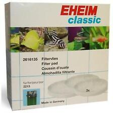 EHEIM Fine Filter pad 3pk for classic 2213 2616135 foam GENUINE