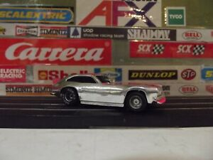 TYCO CHROME & PINK #2 FORD PINTO FUNNY CAR CCAMI WITH CURVEHUGGER CHASSIS