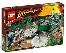 LEGO 7626 - INDIANA JONES - Jungle Cutter - 2008 - 100% COMPLETE w/ BOX - VHTF