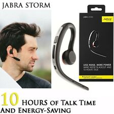 Jabra STORM BT Noise Blackout Mic HD Voice NFC Voice Control Bluetooth Headset