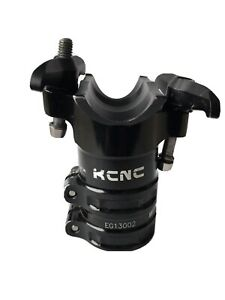 KCNC ISP Majestic Seat Clamp Seat Topper 34.9mm 50mm offset Zero BLACK