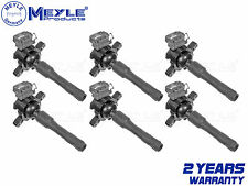 FOR BMW X5 E53 PETROL 6x IGNITION COIL PACK STICK PENCIL SET NEW MEYLE GERMANY