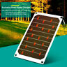 5V 10W Portable Solar Power Charging Panel USB Charger For Samsung IPhone Tablet