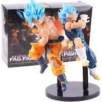 Dragon Ball Super Tag Fighters Vegeta Son Goku Super Saiyan Blue PVC Figure Toy